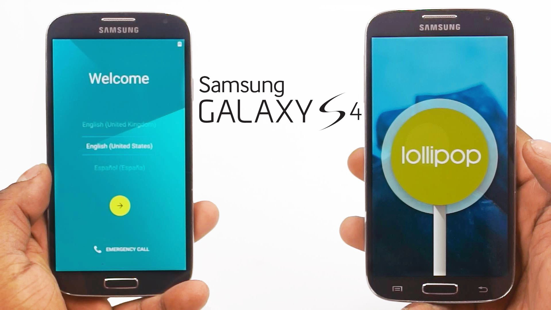 Android Lollipop Leaked per Samsung Galaxy S4