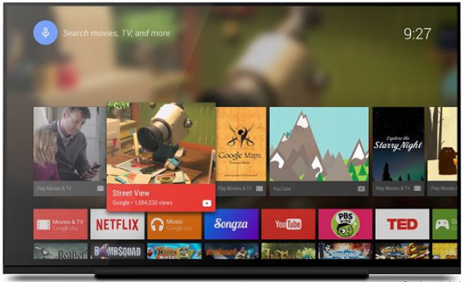 Caratteristiche aggiornamento Google Play Store Android Tv