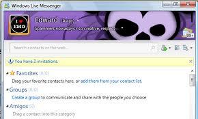 Come cambiare la scena su MSN