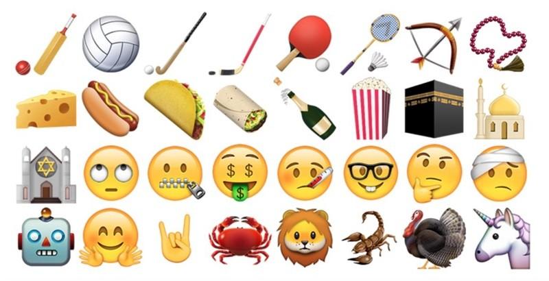 Quali sono le nuove emoji di Apple
