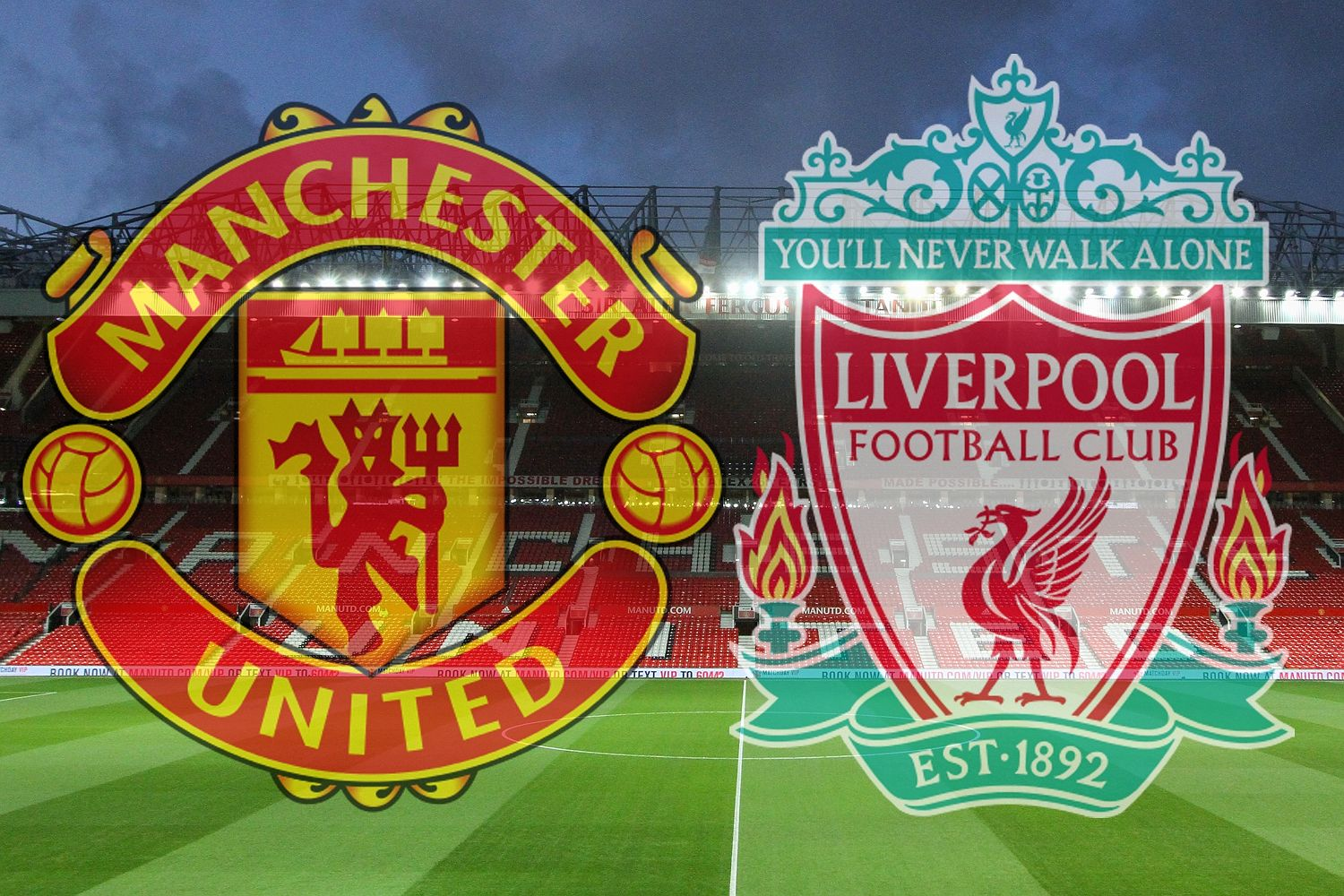 Come vedere in streaming ottavi Europa Manchester United (Ing) - Liverpool (Ing) 17 marzo 2016