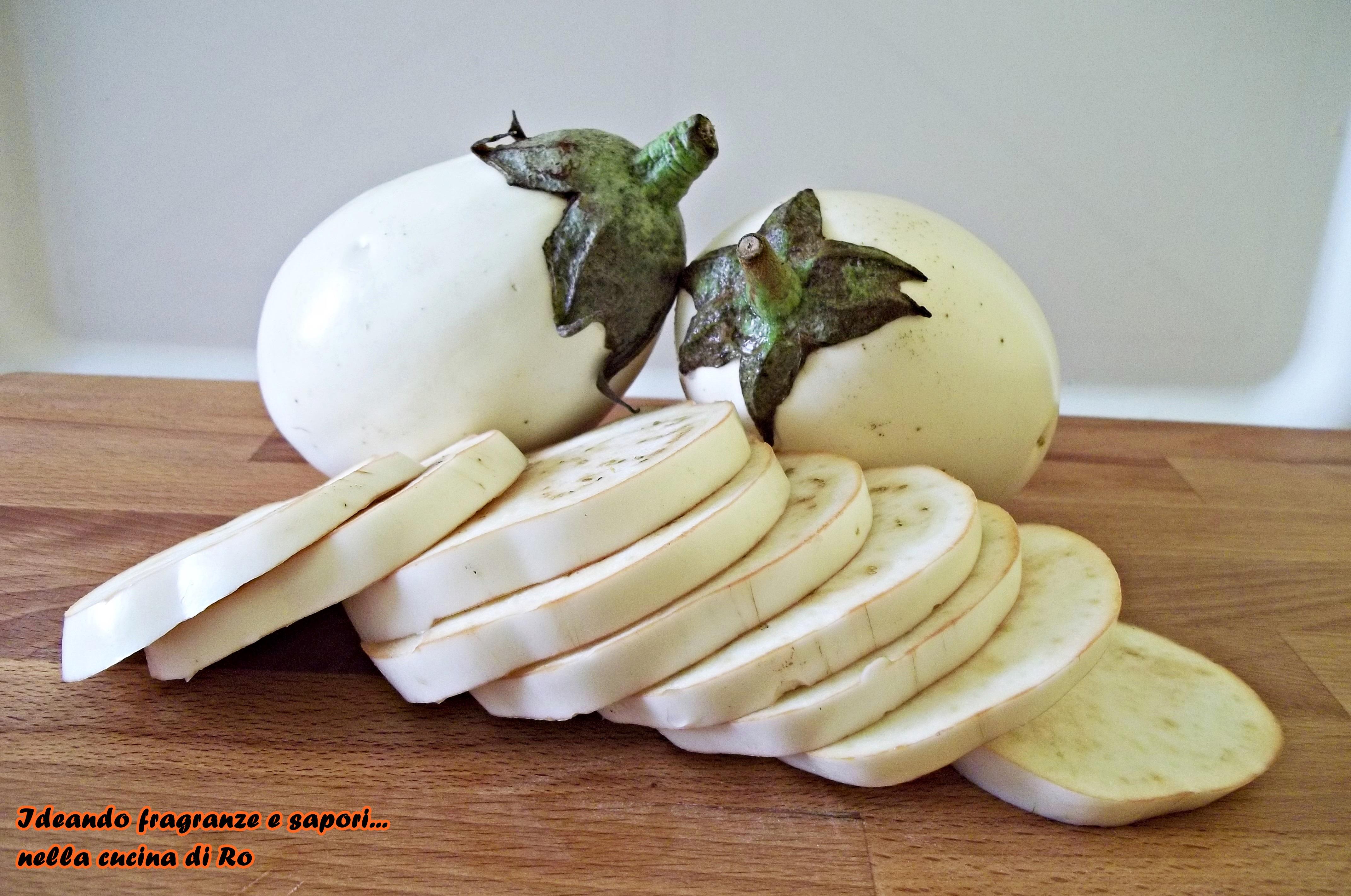 Come far crescere le melanzane bianche in città orto