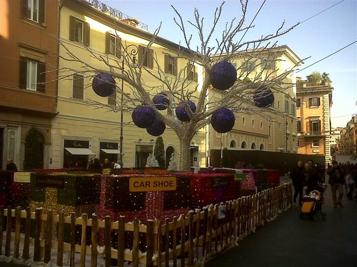 I mercatini di natale di roma for Mercatini antiquariato roma