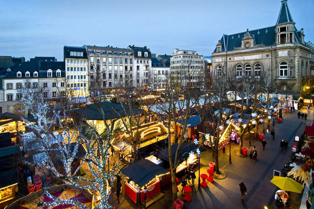 I mercatini di Natale in Lussemburgo
