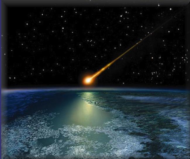 Meteoriti cadono vicino a Chelyabinsk, Russia