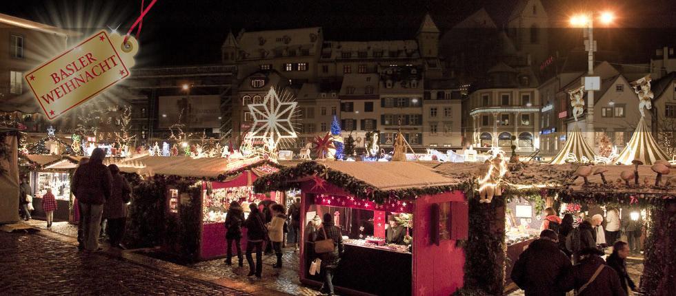 I mercatini di Natale a Basilea