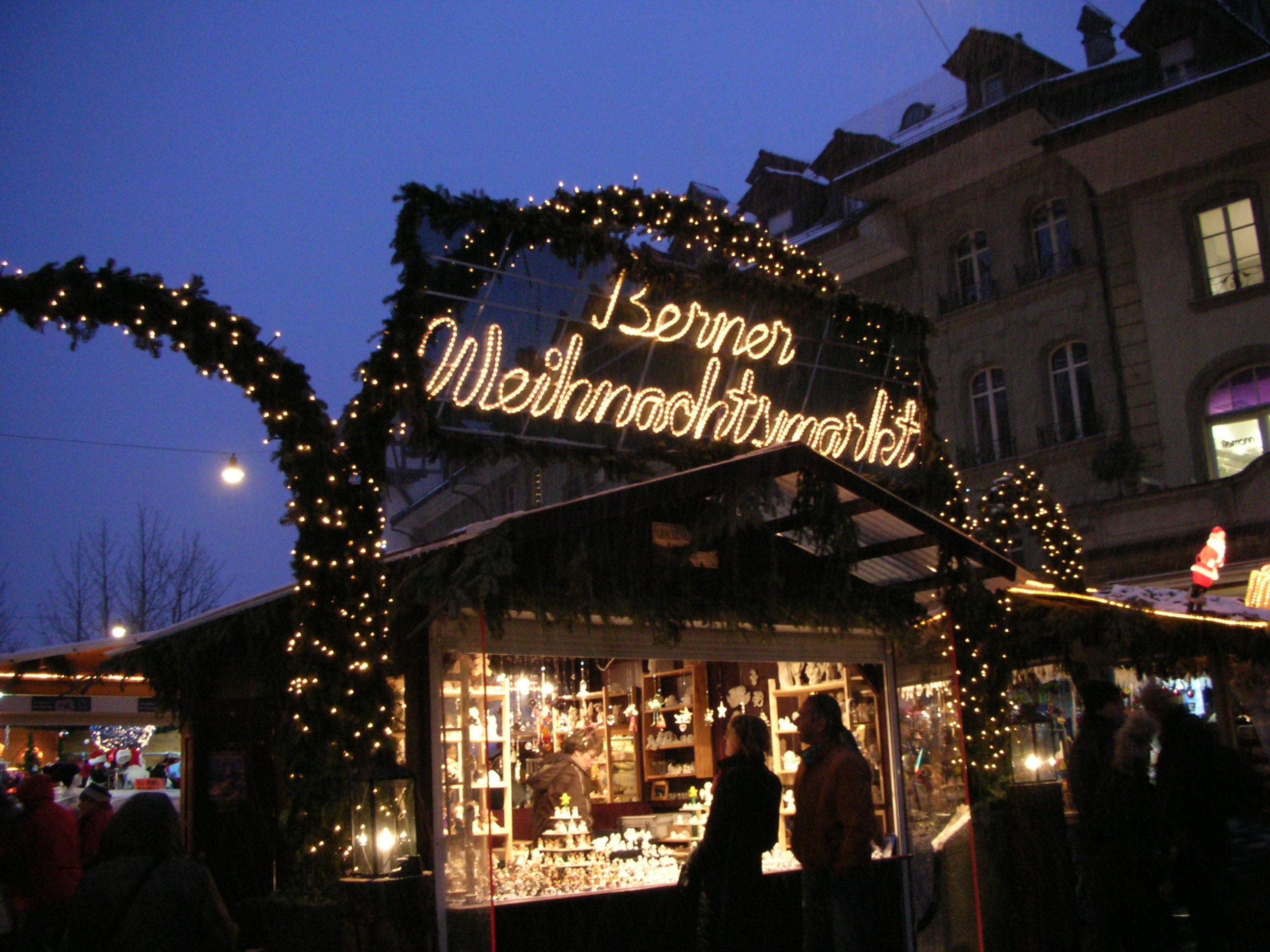 I mercatini di Natale a Berna