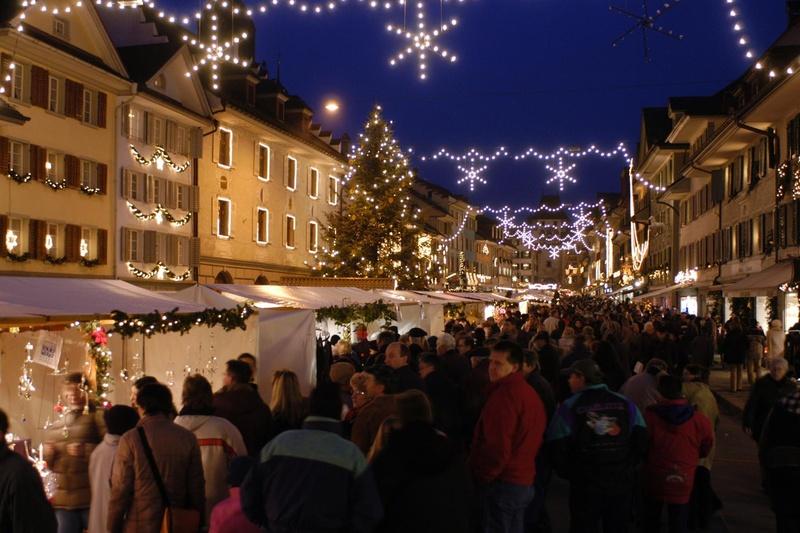 I mercatini di Natale a Willisau in Svizzera