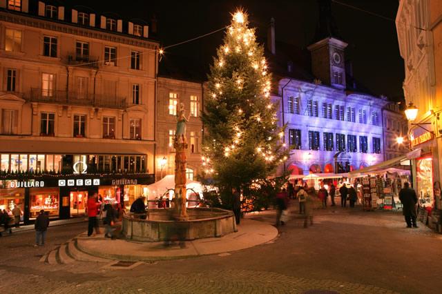I mercatini di Natale a Losanna