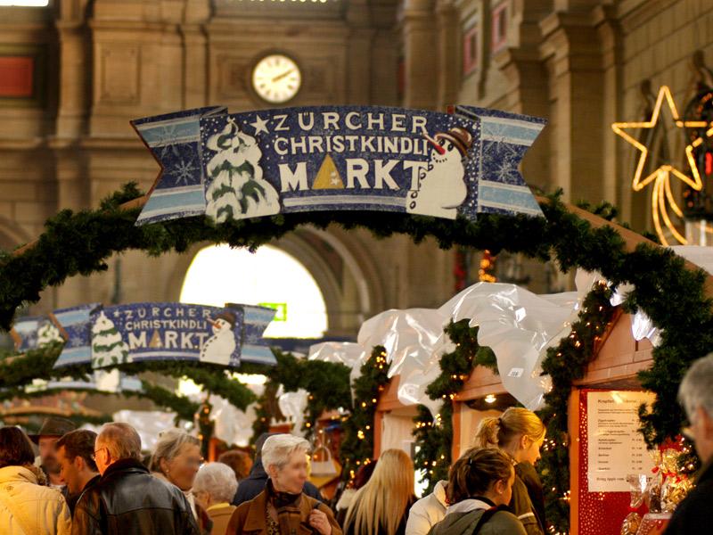 I mercatini di Natale a Zurigo