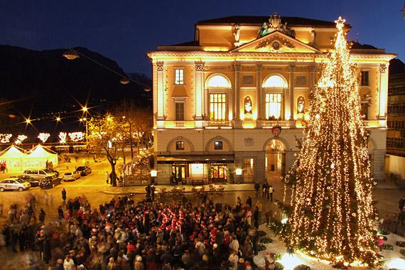 Lugano Natale.I Mercatini Di Natale A Lugano Notizie It