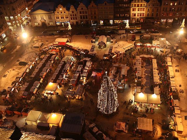 I mercatini di Natale a Plzen in Repubblica Ceca