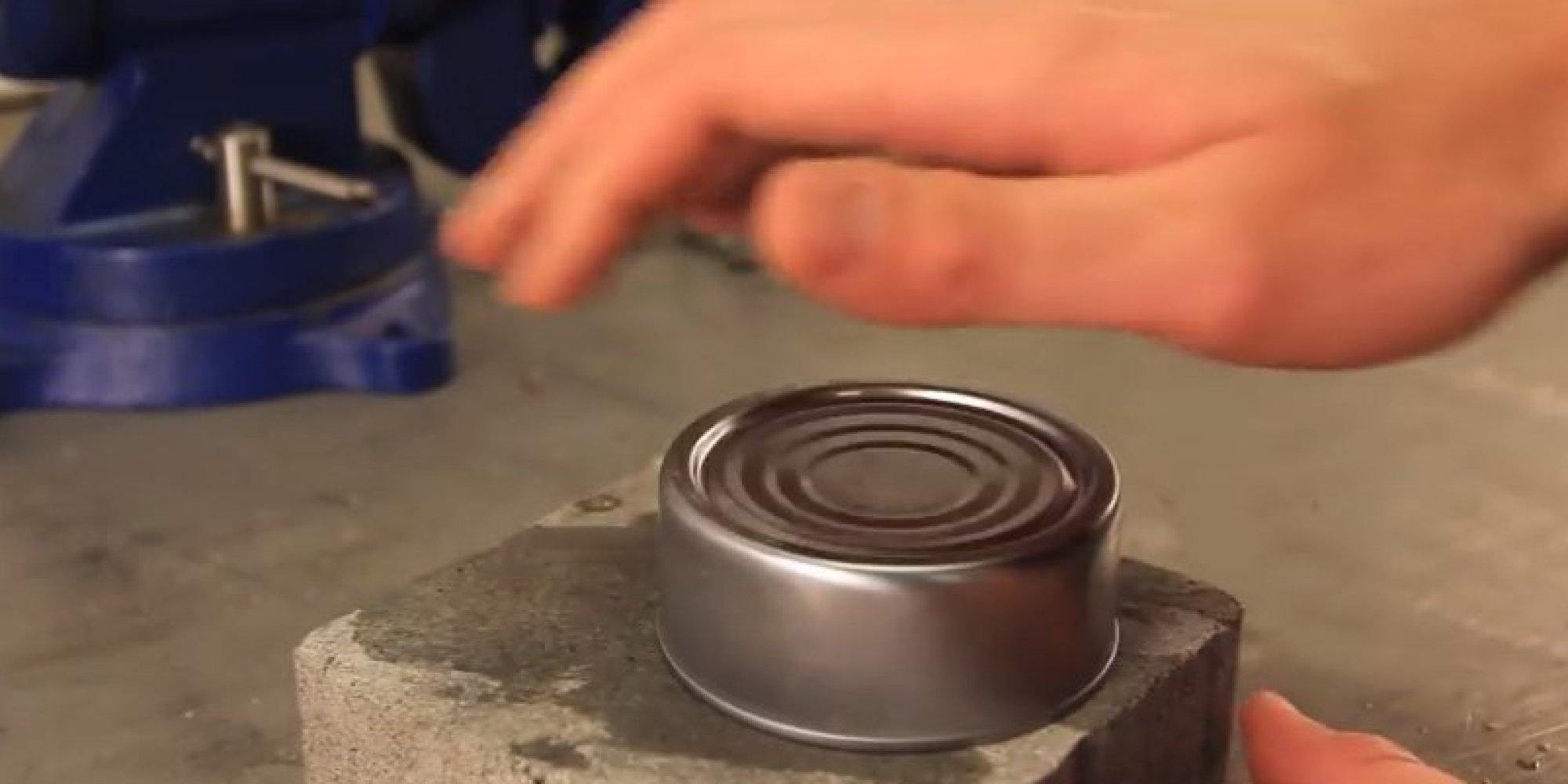 Come aprire scatoletta tonno senza apriscatole