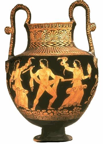 Gli dei greci: Le Erinni