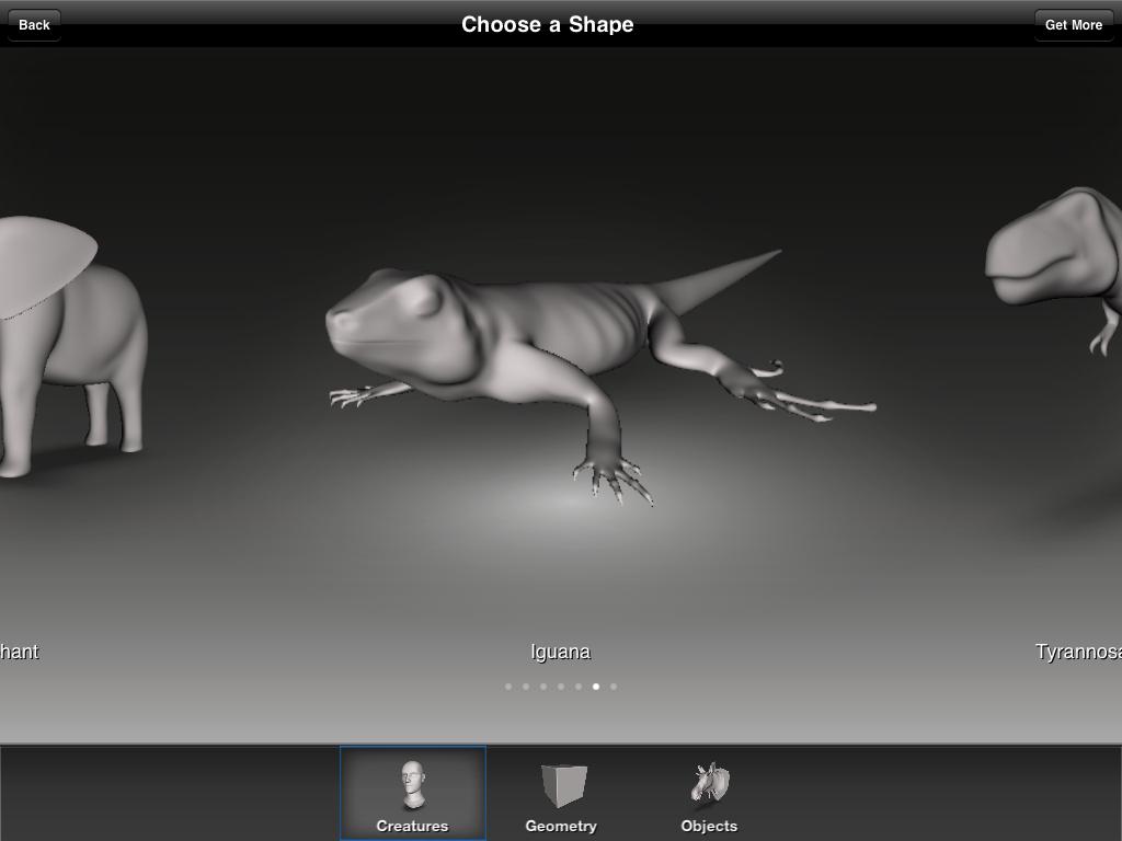 Aggiornamenti App 123D Scult Autodesk