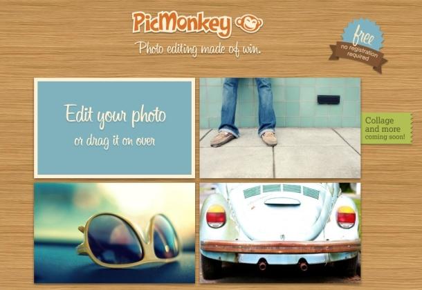 Come fare collage cartoline con Picmonkey