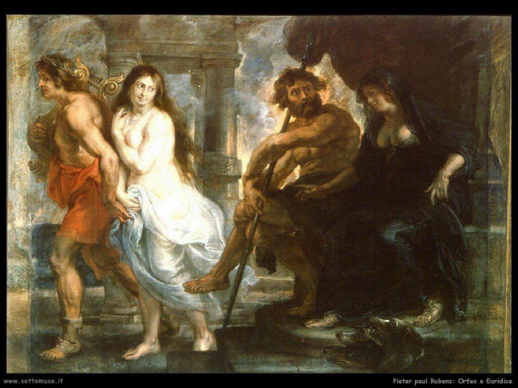 Mitologia: l'amore ultrattereno tra Orfeo e Euridice