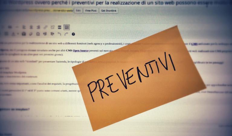 Come scrivere un preventivo
