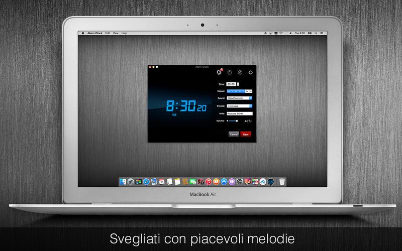 Come impostare sveglia su Mac