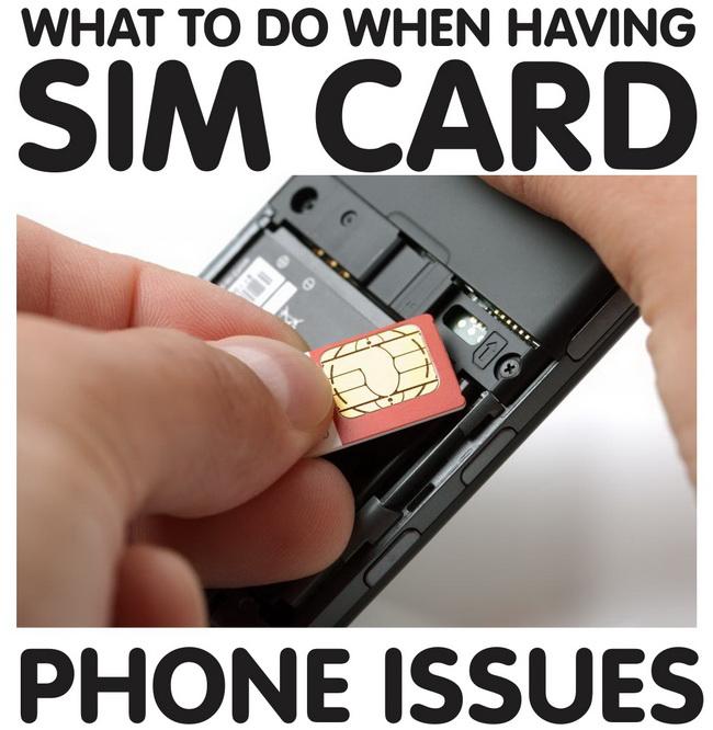 Cosa fare se il cellulare non legge la sim
