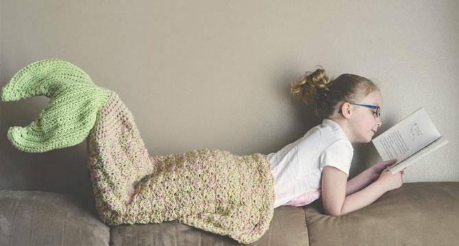 La coperta a coda di sirena è il regalo di Natale che farà felici le ragazze (e non solo)