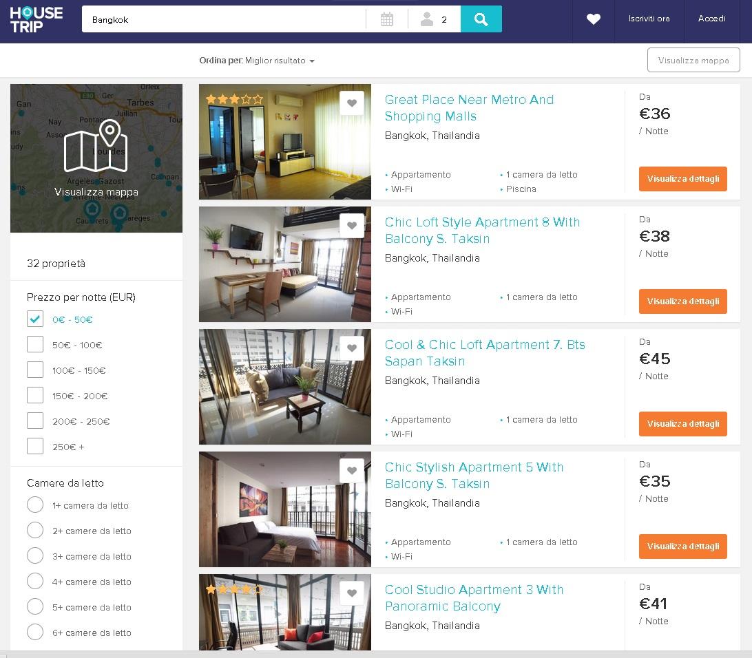 Siti come airbnb per mettere in affitto il proprio appartamento