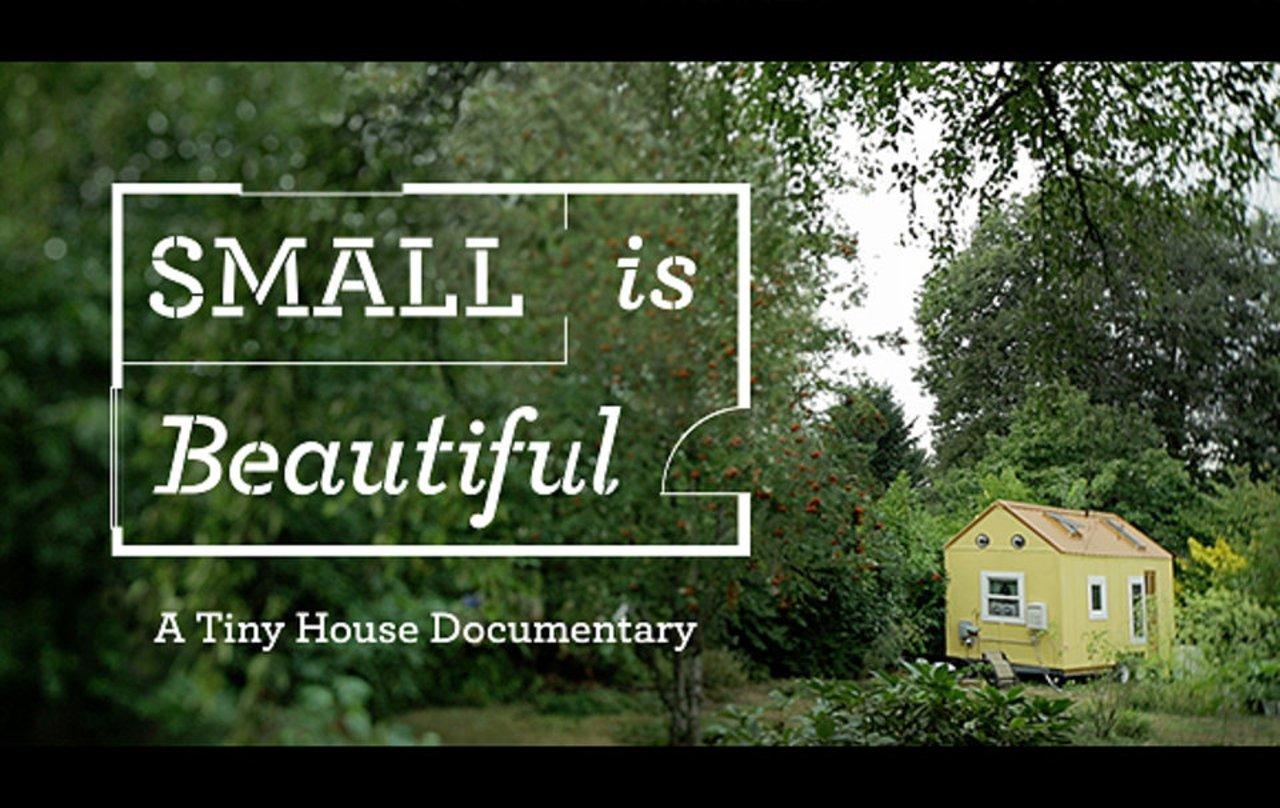 'Small is beautiful', un documentario sulle piccole case
