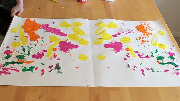 Arte e bambini: le simmetrie