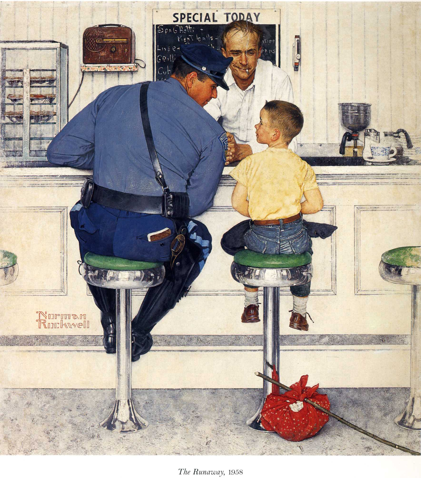 Date mostra Norman Rockwell 2014 a Roma