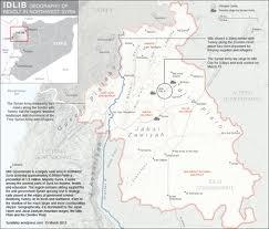 Dove si trova Idlib