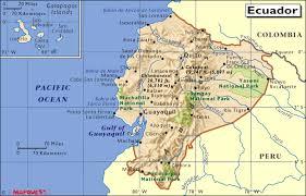 Dove si trova l'Ecuador
