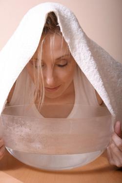 Come trattare la pelle grassa con il vapore