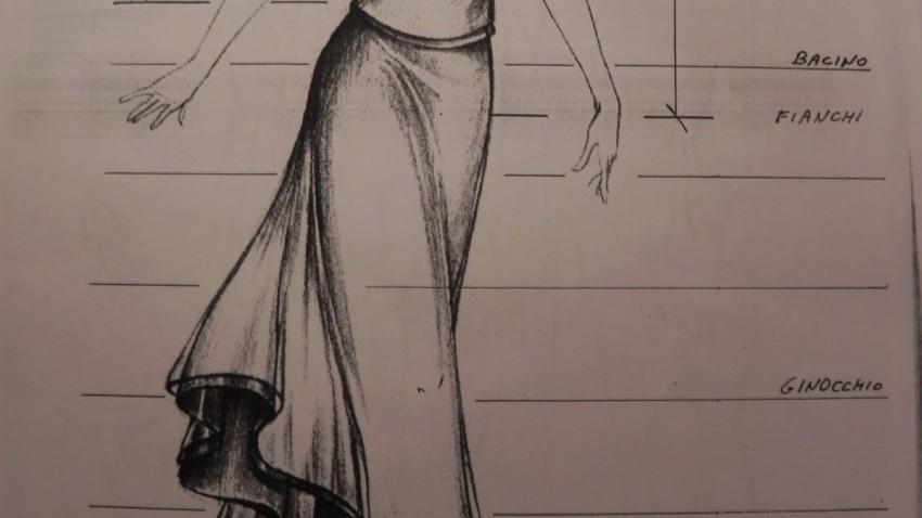 Come si disegna un vestito