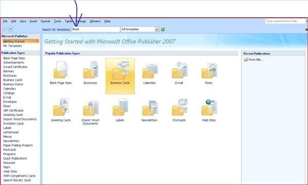 Come scrivere un libro usando MS Office Publisher