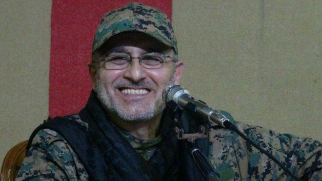 Il defunto comandante degli Hezbollah Mustafa Braddedine