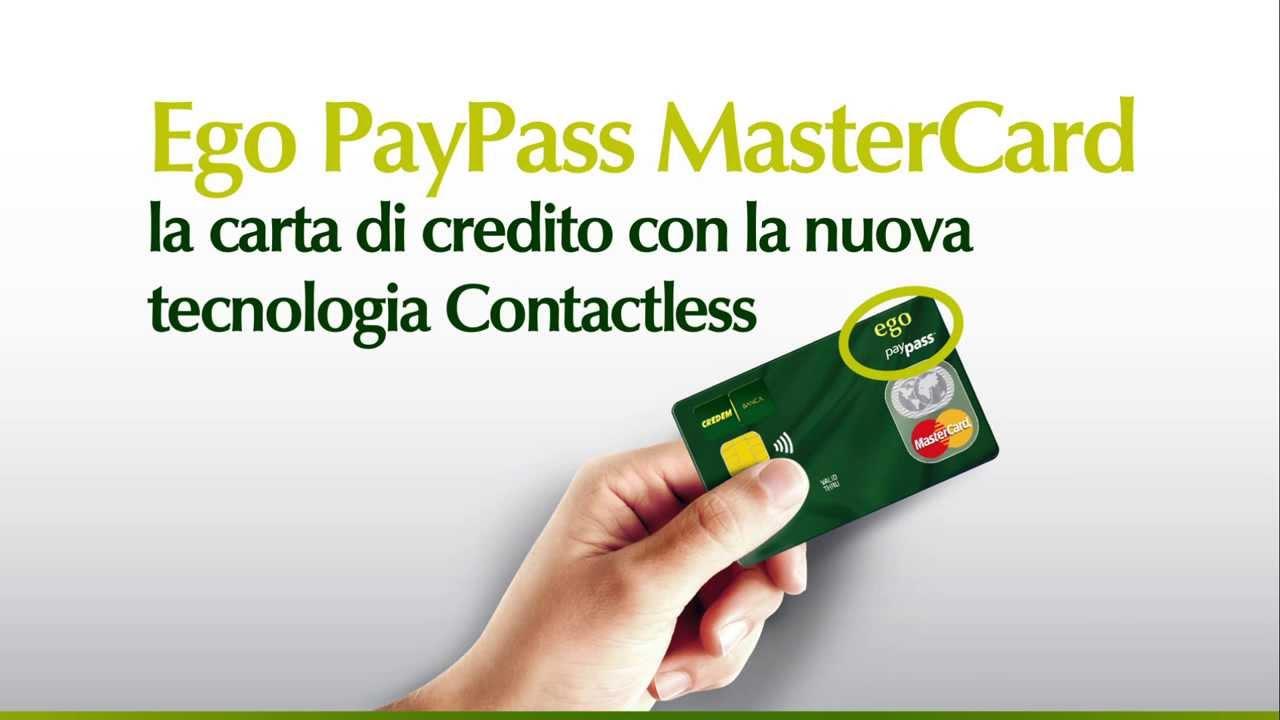 Che cosa sono carte credito PayPass