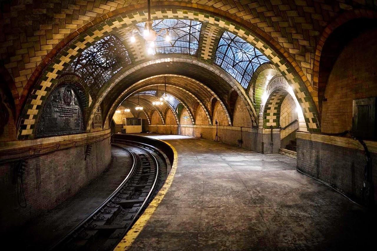 City Hall: stazione della metropolitana fantasma a New York