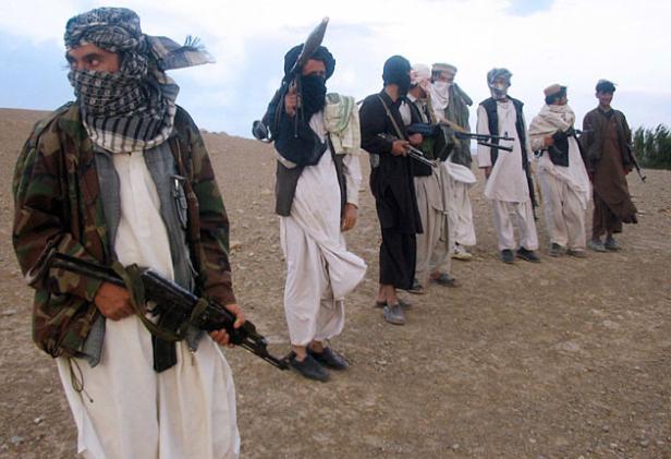 Gruppo di Talebani in Afghanistan