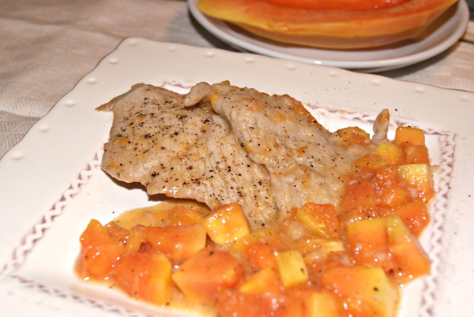 Ricette con Papaya, la scheda della Papaya