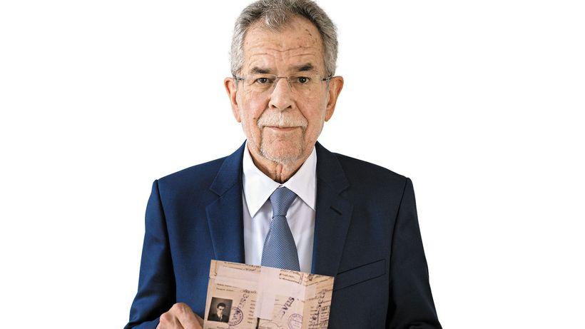 Il neo presidente austriaco Alexander Van der Bellen