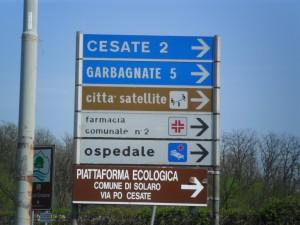cartelli città satellite