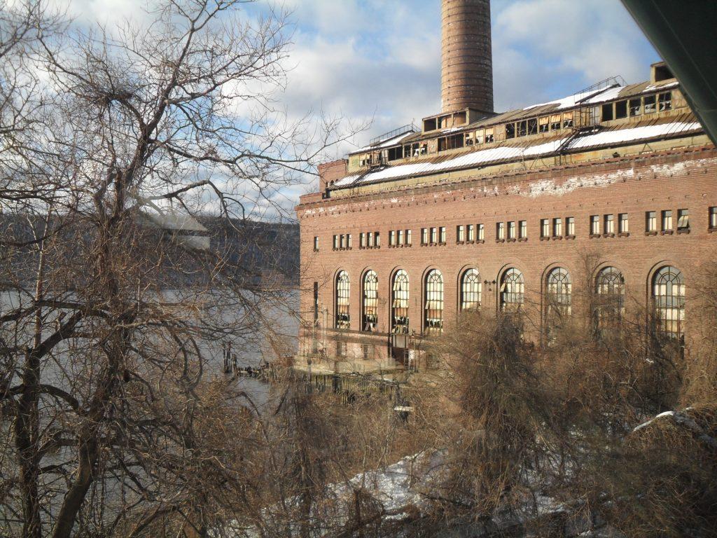 New York: Una centrale elettrica abbandonata