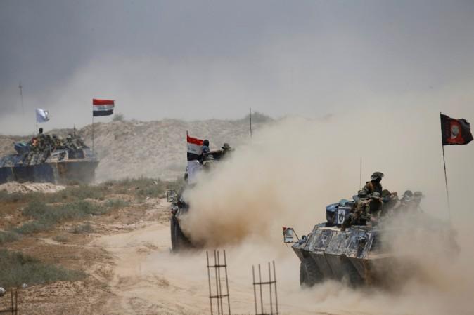 Le forze militari irachene entrano a Falluja, roccaforte dell'Isis dal Gennaio 2014