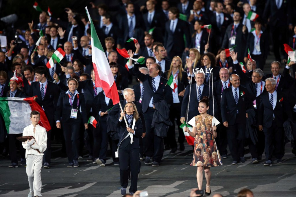 Lista completa portabandiera olimpiadi