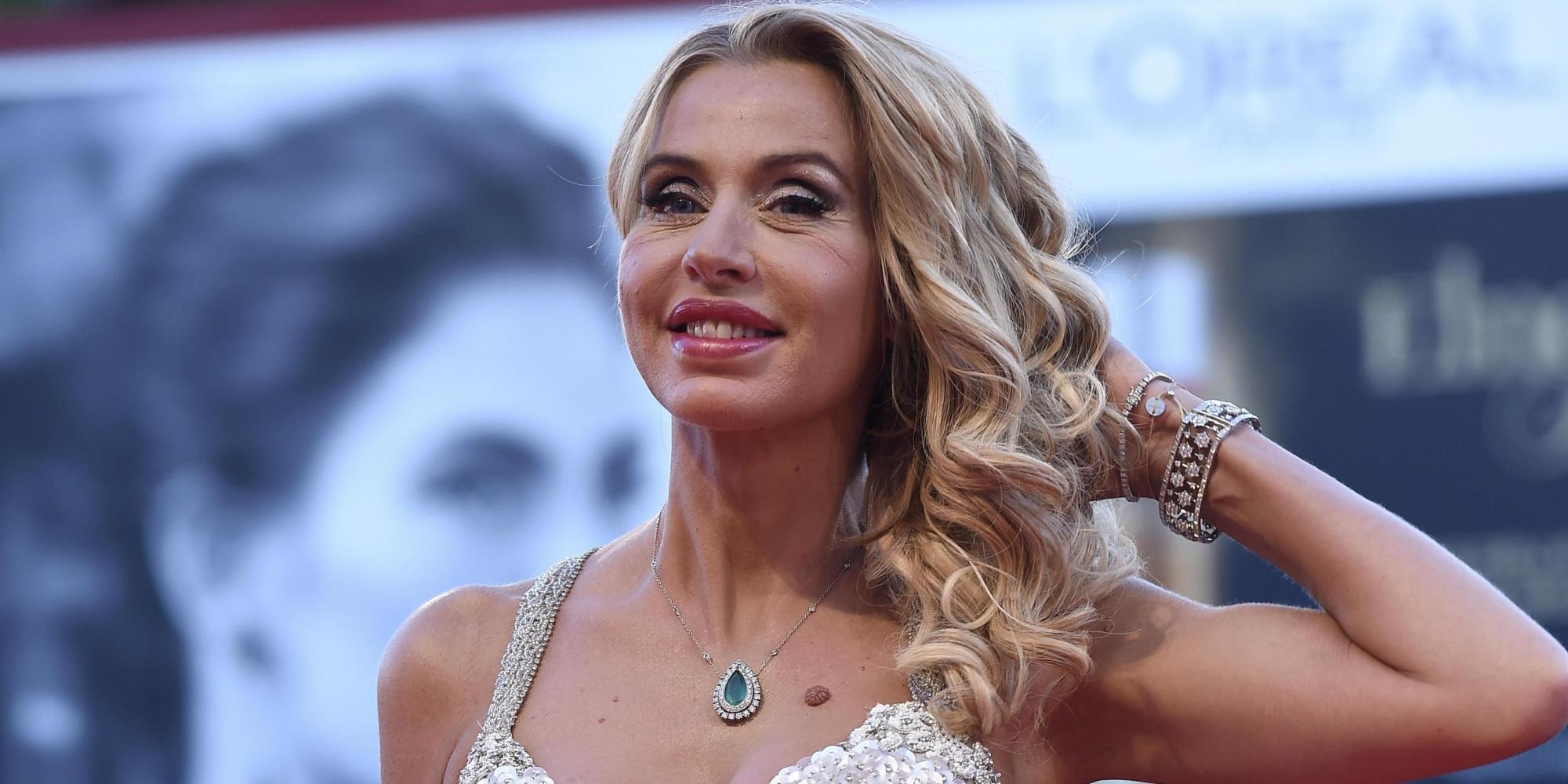 Valeria Marini al Festival di Cannes del 2014