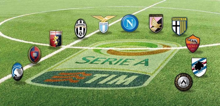 Alcune delle Squadre che militano in Serie A