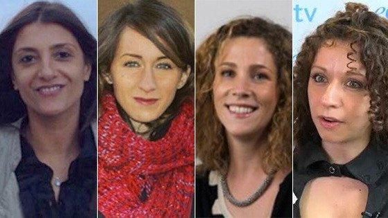 Le quattro ricercatrici italiane vincitrici del Merit Award 2016