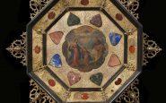 4---Dipinto-su-rame-in-cornice-in-bronzo-dorato-e-pietre-dure---Italia