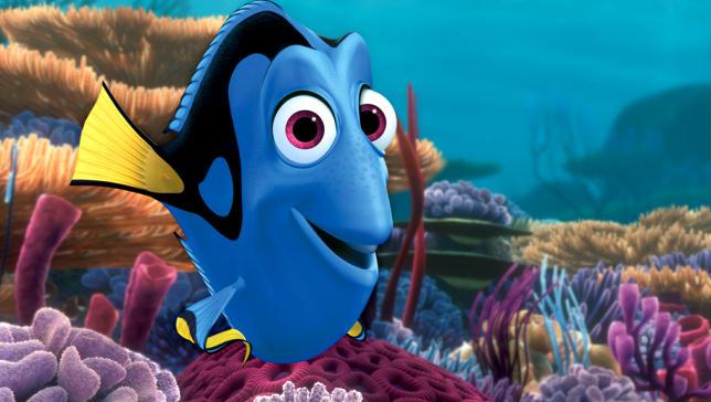 """Dory, la simaptica pesciolina blu protagonista di """"Alla ricerca di Dory"""""""