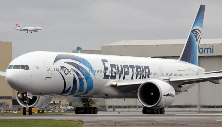 Un volo Egyptair